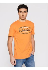 Quiksilver T-Shirt Cut To Now Ss EQYZT06377 Pomarańczowy Regular Fit. Kolor: pomarańczowy