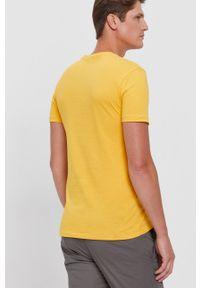 Polo Ralph Lauren - T-shirt bawełniany. Okazja: na co dzień. Typ kołnierza: polo. Kolor: żółty. Materiał: bawełna. Wzór: gładki. Styl: casual
