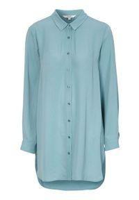 Cellbes Miła długa koszula niebieski female niebieski 54/56. Kolor: niebieski. Długość rękawa: długi rękaw. Długość: długie