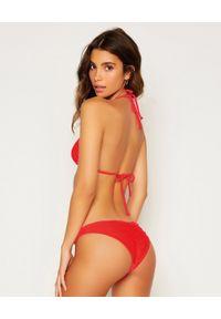 BEACH BUNNY - Top od bikini Nadia. Kolor: różowy, fioletowy, wielokolorowy. Wzór: aplikacja