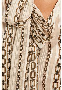 Kremowa koszula Morgan casualowa, długa, z długim rękawem, na co dzień