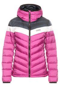 Różowa kurtka puchowa Colmar