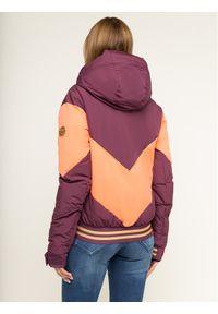 Fioletowa kurtka zimowa Roxy