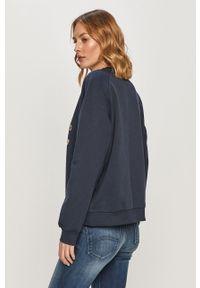 Niebieska bluza Pepe Jeans bez kaptura, casualowa