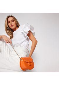 Furla - Torebka FURLA - Metropolis BATJEP0-VNC000-BG600-9-001-20-BG-B Orange i. Kolor: pomarańczowy. Materiał: skórzane. Styl: wizytowy. Rodzaj torebki: na ramię