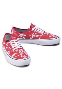 Czerwone buty trekkingowe Vans Vans Authentic