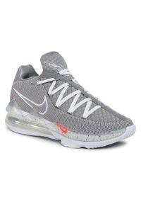 Szare buty do koszykówki Nike