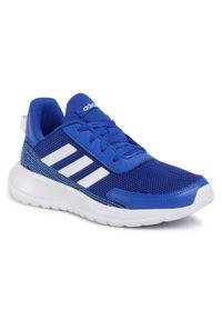 Niebieskie półbuty Adidas z cholewką