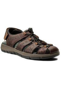 Brązowe sandały Clarks