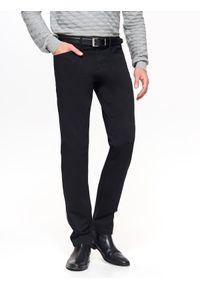 Czarne spodnie TOP SECRET długie, na co dzień, klasyczne