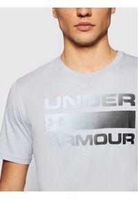 Under Armour T-Shirt Ua Team Issue Wordmark 1329582 Szary Loose Fit. Kolor: szary