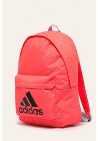 Różowy plecak adidas Performance z nadrukiem