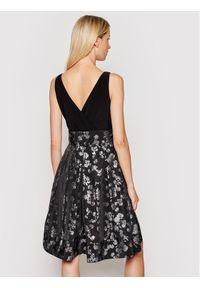 Lauren Ralph Lauren Sukienka koktajlowa Cktl 253837666001 Czarny Regular Fit. Kolor: czarny. Styl: wizytowy