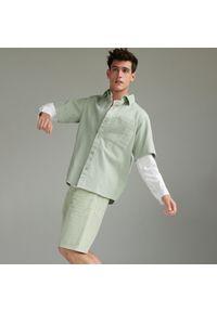 Reserved - Bawełniane szorty - Zielony. Kolor: zielony. Materiał: bawełna