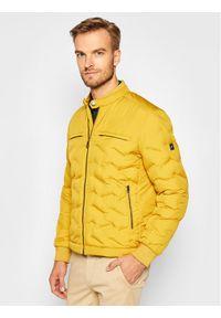 Żółta kurtka zimowa Pierre Cardin