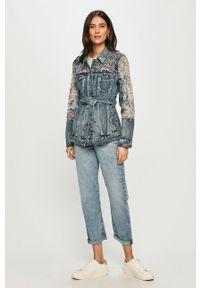 Niebieskie jeansy loose fit Calvin Klein