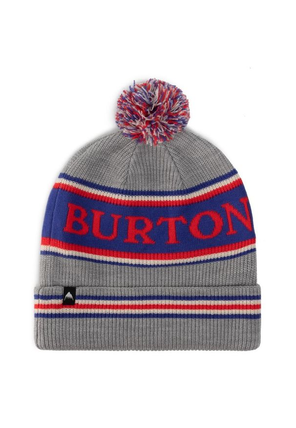 Szara czapka Burton
