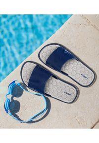 Niebieskie klapki LANO na plażę