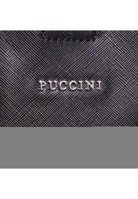 Czarna torebka klasyczna Puccini #6