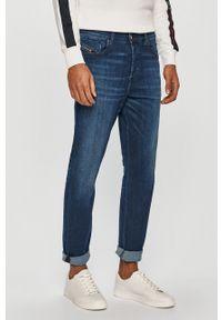 Niebieskie jeansy Diesel casualowe, na co dzień