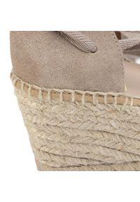 Beżowe sandały Kanna casualowe, na co dzień