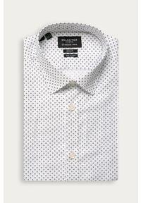 Biała koszula Selected klasyczna, na co dzień, z klasycznym kołnierzykiem