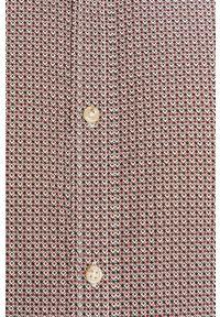 Czerwona koszula PRODUKT by Jack & Jones w kwiaty, z długim rękawem