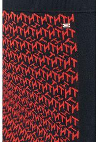 Czerwona spódnica TOMMY HILFIGER na co dzień, casualowa
