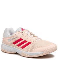 Różowe buty do fitnessu Adidas