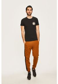 Brązowe spodnie dresowe Only & Sons