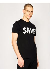 Czarny t-shirt Save The Duck