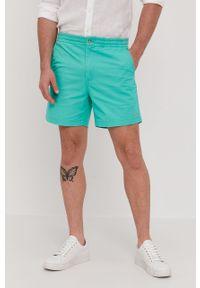 Zielone szorty Polo Ralph Lauren na co dzień, casualowe, gładkie