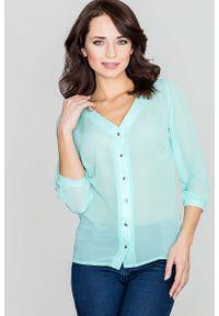 Zielona bluzka Katrus elegancka