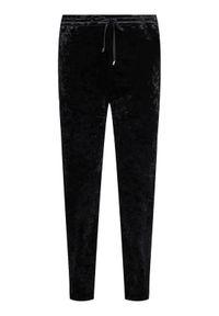 Czarne spodnie materiałowe DKNY