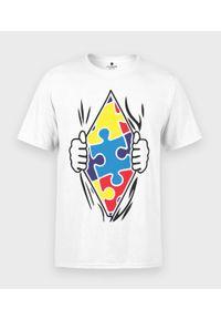 MegaKoszulki - Koszulka męska Puzzle. Materiał: bawełna