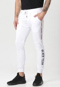 Born2be - Białe Spodnie Liseis. Kolor: biały