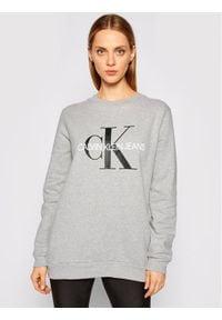 Calvin Klein Jeans Bluza Core Monogram Logo J20J207877 Szary Relaxed Fit. Kolor: szary