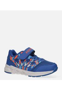 Casu - niebieskie buty sportowe na rzep casu 20p8/m. Zapięcie: rzepy. Kolor: niebieski