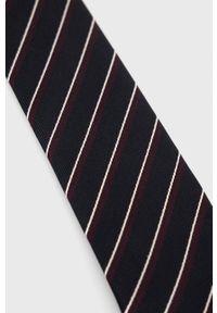 TIGER OF SWEDEN - Tiger Of Sweden - Krawat. Kolor: czarny. Materiał: materiał