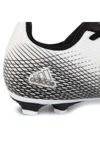 Białe buty do piłki nożnej Adidas z cholewką