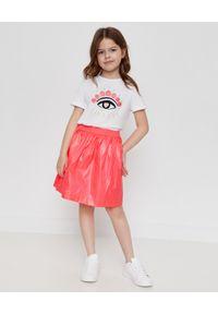 Kenzo kids - KENZO KIDS - Różowa spódnica 3-12 lat. Kolor: wielokolorowy, różowy, fioletowy. Materiał: materiał. Sezon: lato
