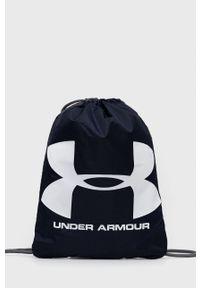 Under Armour - Plecak. Kolor: niebieski. Wzór: nadruk