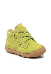 Trzewiki RICOSTA - Pepino By Ricosta Kelly 73 1221700/513 Lime. Kolor: zielony. Materiał: skóra, nubuk. Szerokość cholewki: normalna. Sezon: zima, jesień