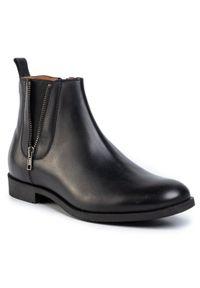 Czarne buty wizytowe Gino Rossi