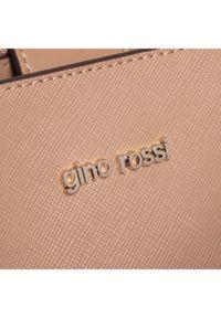 Beżowa torebka klasyczna Gino Rossi skórzana