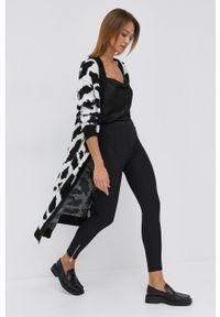 Silvian Heach - Spodnie. Kolor: czarny. Materiał: materiał