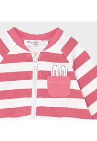 Mayoral Komplet dresowy 1816 Różowy Regular Fit. Kolor: różowy. Materiał: dresówka