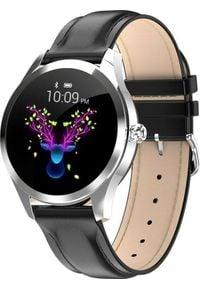 Smartwatch KingWear KW10 Czarny (70). Rodzaj zegarka: smartwatch. Kolor: czarny