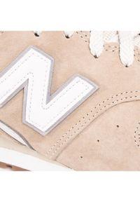 Beżowe buty sportowe New Balance New Balance 996 #6