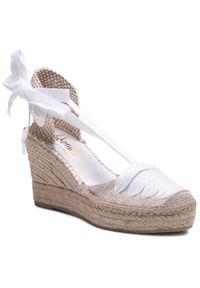 Beżowe sandały Vidorreta casualowe, na co dzień